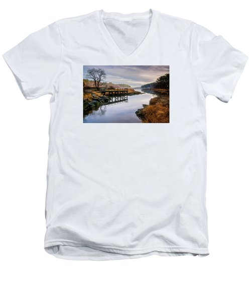 Frenchman's Pier Gloucester Men's V-Neck T-Shirt
