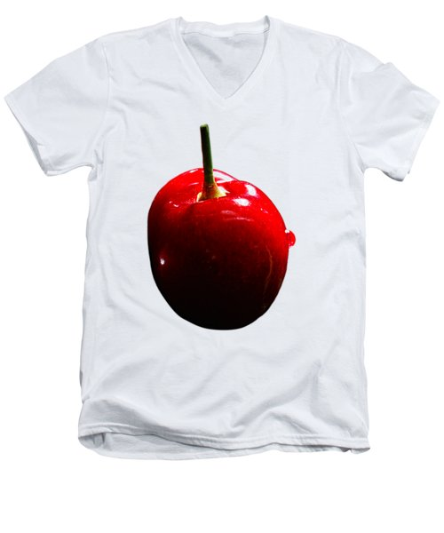 Fresh Cherry To Be Picked Men's V-Neck T-Shirt