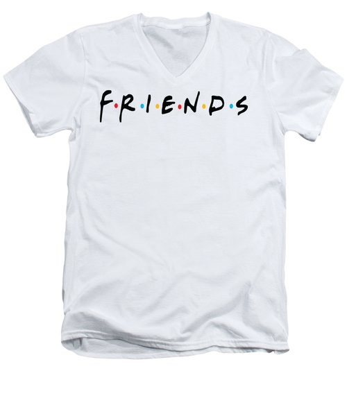 Friends Men's V-Neck T-Shirt