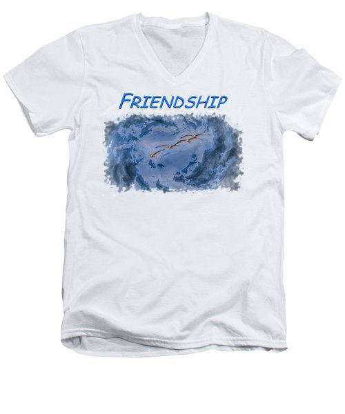 Friendship Men's V-Neck T-Shirt