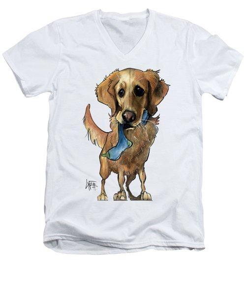 Fritz 3330 Men's V-Neck T-Shirt