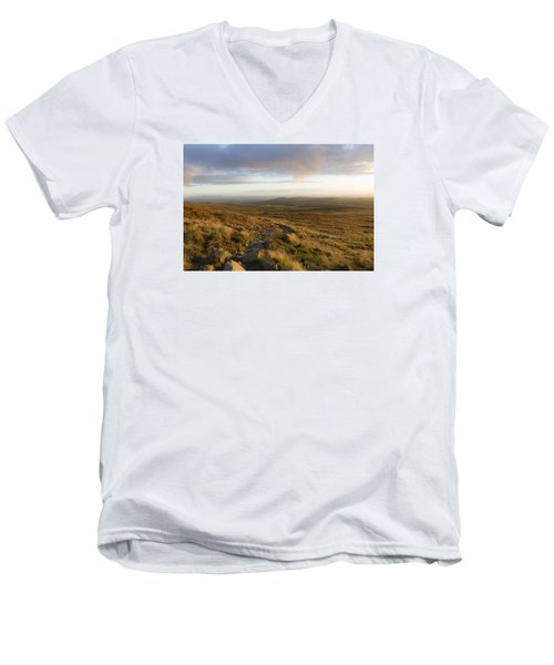 From The Black Mountain Men's V-Neck T-Shirt