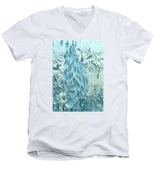 Frosty Forest Men's V-Neck T-Shirt
