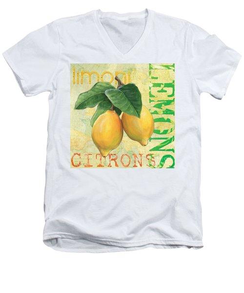 Froyo Lemon Men's V-Neck T-Shirt