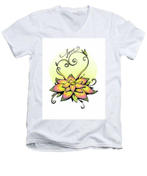 Fruit Of The Spirit Series 2 Love Men's V-Neck T-Shirt