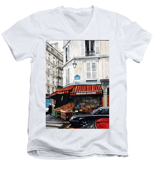 Fruits Et Legumes Men's V-Neck T-Shirt
