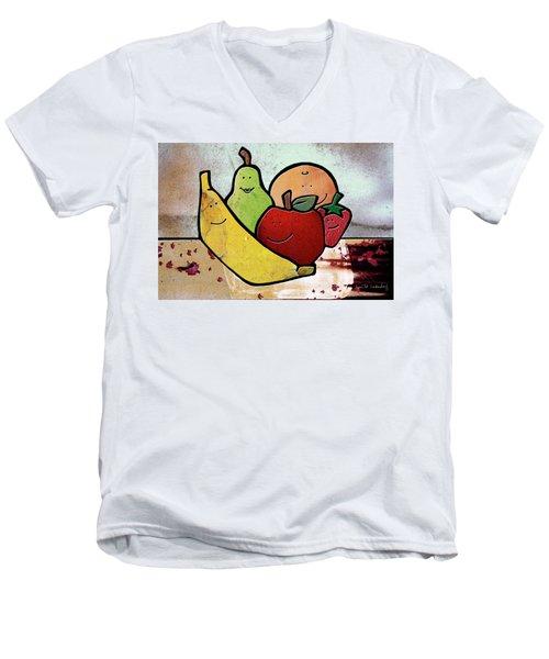 Fruity Men's V-Neck T-Shirt
