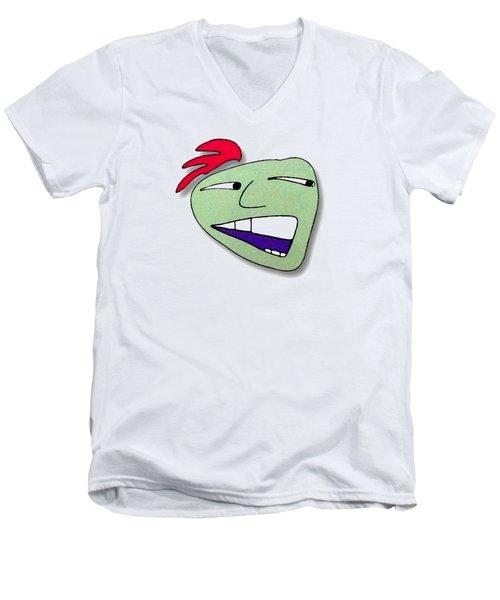 Fu Party People - Peep 019 Men's V-Neck T-Shirt