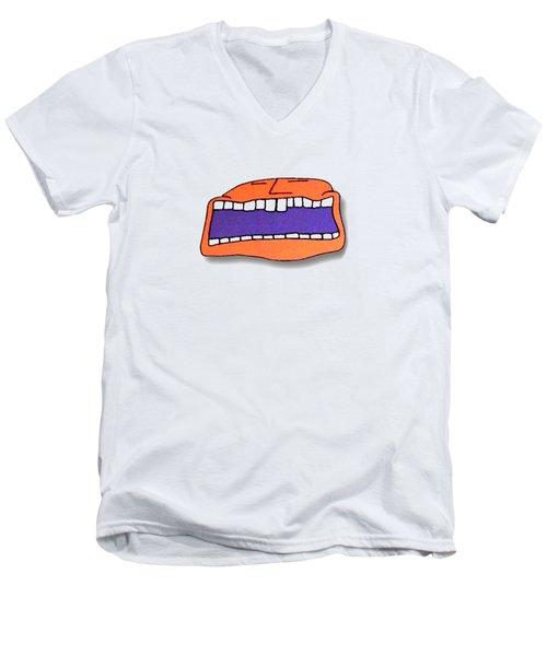 Fu Party People - Peep 041 Men's V-Neck T-Shirt