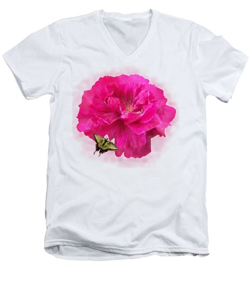 Full Blown Men's V-Neck T-Shirt