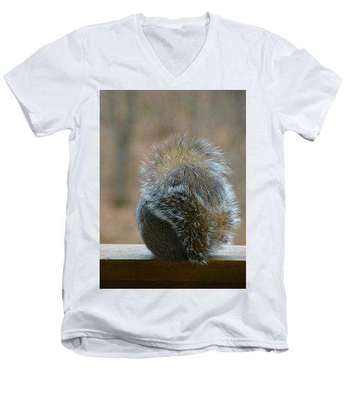 Fur Ball Men's V-Neck T-Shirt