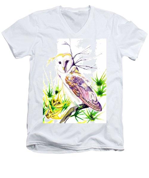 Furze Wisdom Men's V-Neck T-Shirt