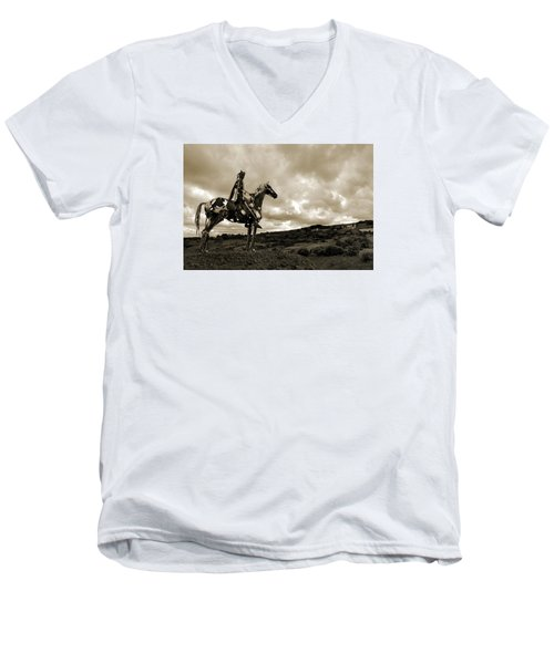 Gaelic Chieftain. Men's V-Neck T-Shirt