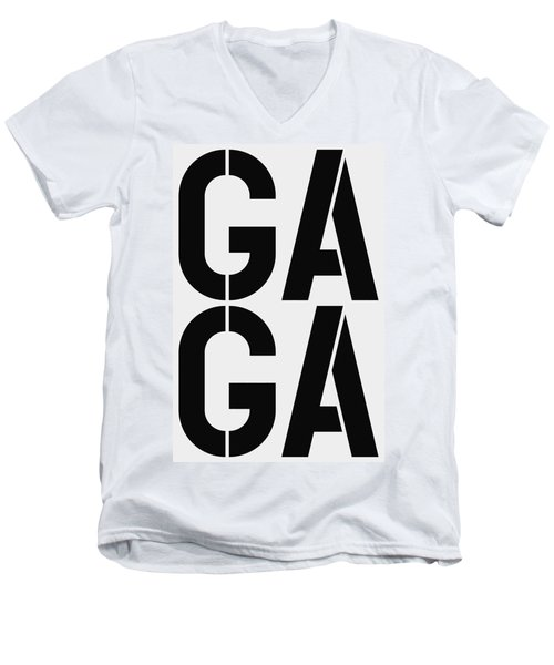 Gaga Men's V-Neck T-Shirt