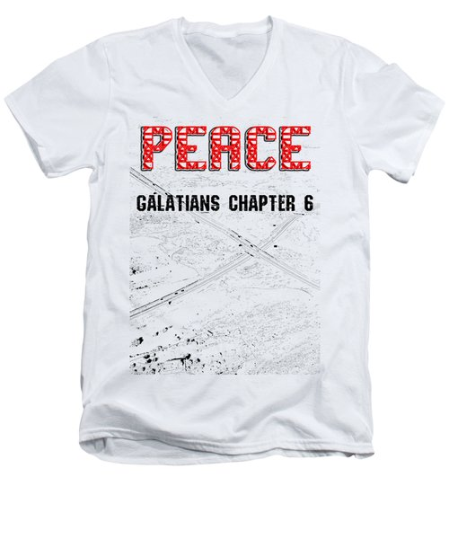 Galatians Chapter 6 Men's V-Neck T-Shirt