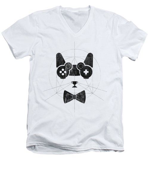 Gameow Men's V-Neck T-Shirt