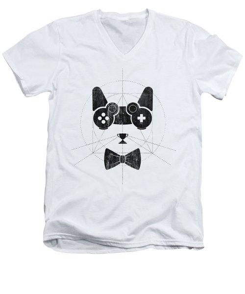 Gameow Men's V-Neck T-Shirt