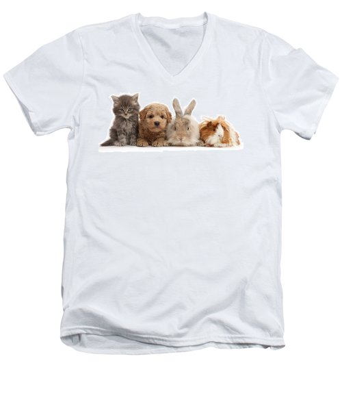 Gang Of Four Men's V-Neck T-Shirt