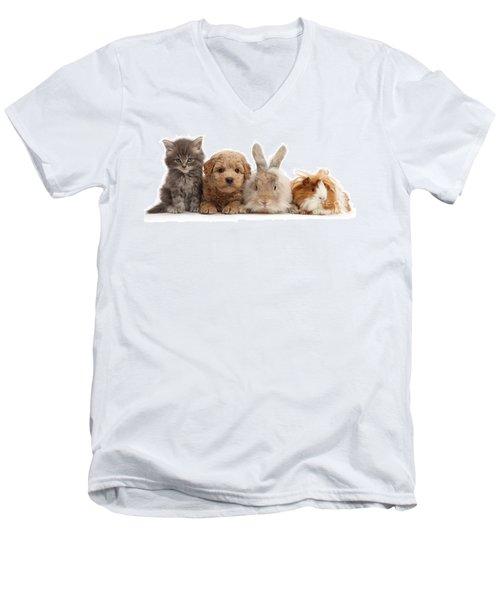 Gang Of Four Men's V-Neck T-Shirt