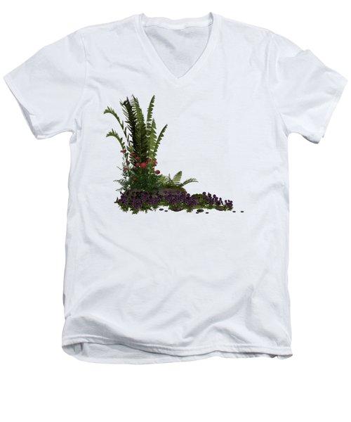Garden Corner Men's V-Neck T-Shirt