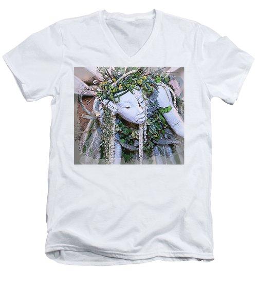 Garden Fairy Men's V-Neck T-Shirt