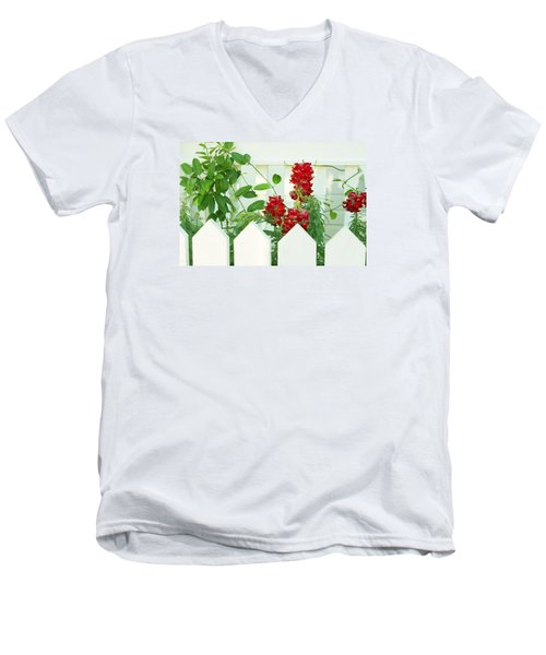 Garden Fence - Key West Men's V-Neck T-Shirt
