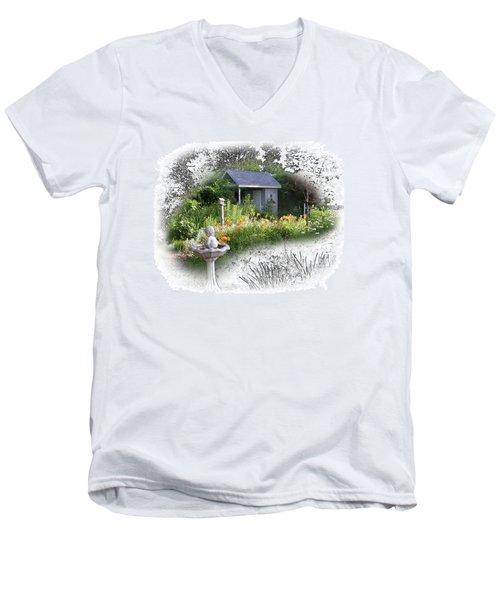 Garden House Men's V-Neck T-Shirt