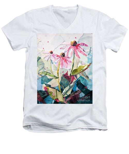 Garden Party Men's V-Neck T-Shirt