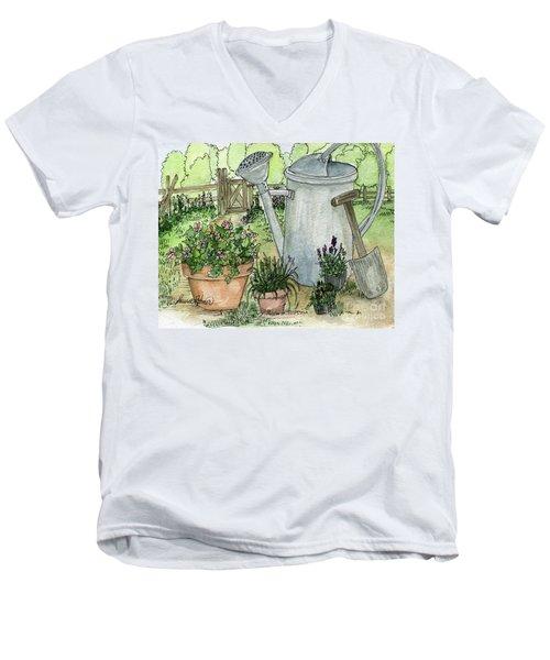 Garden Tools Men's V-Neck T-Shirt