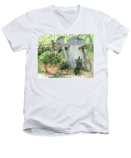 Garden Tools Men's V-Neck T-Shirt