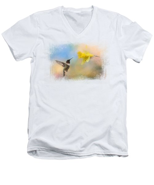 Garden Visitor Men's V-Neck T-Shirt