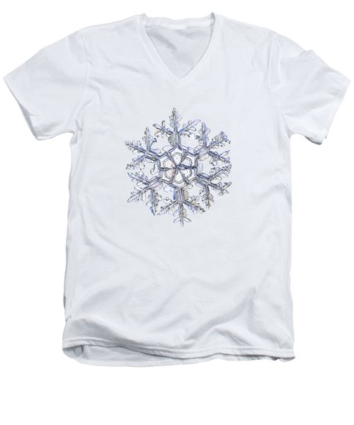 Gardener's Dream, White Version Men's V-Neck T-Shirt by Alexey Kljatov