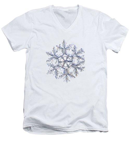 Gardener's Dream, White Version Men's V-Neck T-Shirt