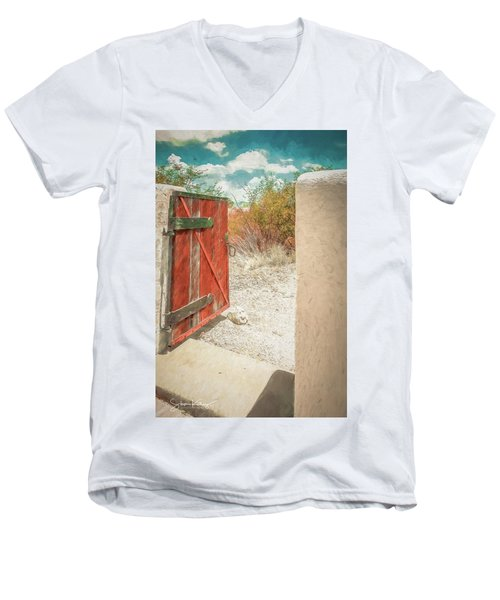 Gate To Oracle Men's V-Neck T-Shirt