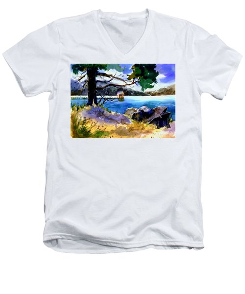 Gatekeeper's Tahoe Men's V-Neck T-Shirt