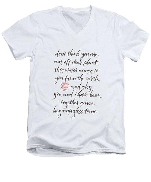 Gatha Eight Men's V-Neck T-Shirt