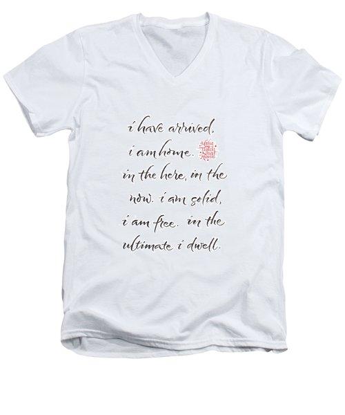 Gatha Five Men's V-Neck T-Shirt