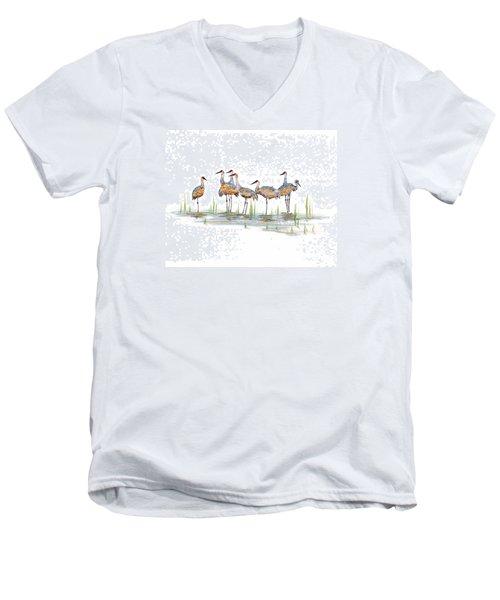 Gathering Men's V-Neck T-Shirt