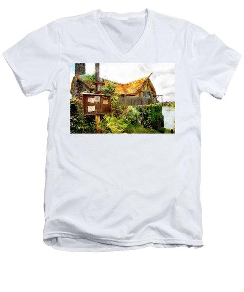 Gathering Place Men's V-Neck T-Shirt