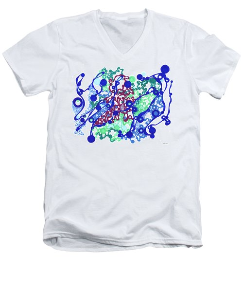 Gel Men's V-Neck T-Shirt
