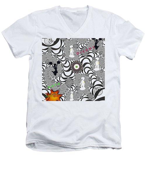 Gene Dreams Men's V-Neck T-Shirt