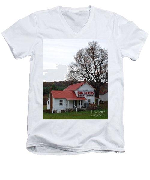General Store Men's V-Neck T-Shirt by Eric Liller