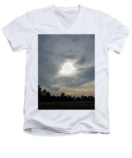Genesis On The Seventh Day Men's V-Neck T-Shirt