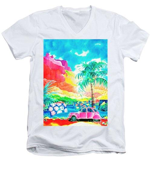 Gentle Breeze Men's V-Neck T-Shirt