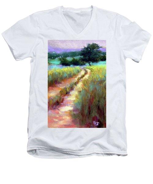 Gentle Journey Men's V-Neck T-Shirt