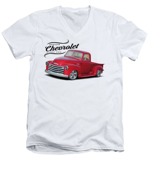 Genuine Street Rod Men's V-Neck T-Shirt