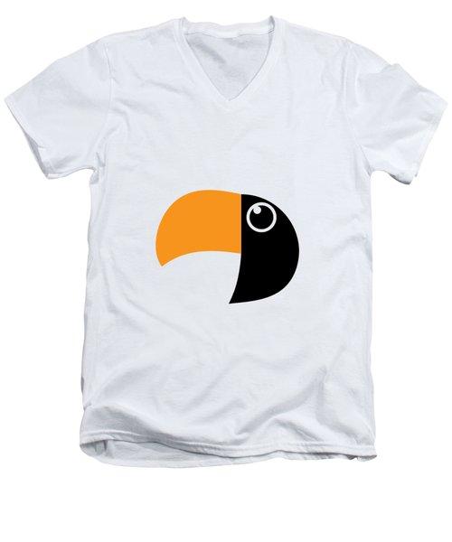Geometric Art 491 Men's V-Neck T-Shirt