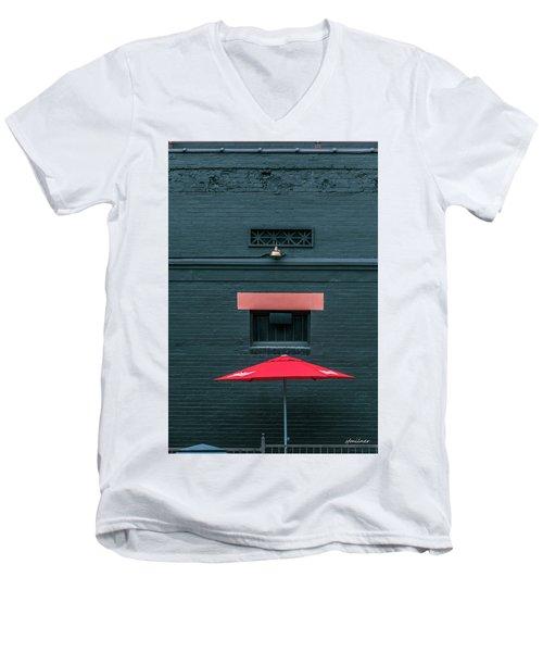 Geometric Illusion Men's V-Neck T-Shirt