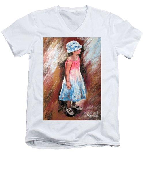 Georgia No. 1. Men's V-Neck T-Shirt