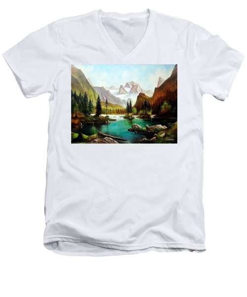 German Alps Men's V-Neck T-Shirt